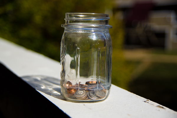 Simple Home School -- Penny Motivation Jar 2