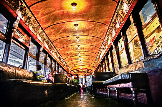 Trolley Car by Bryon Lippincott Photography